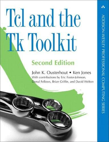 9780321336330: Tcl and the Tk Toolkit (2nd Edition)