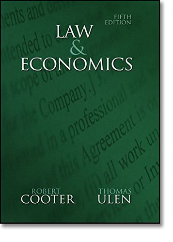 9780321336347: Law and Economics (5th Edition)
