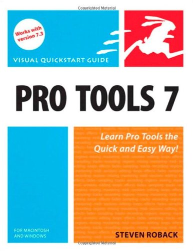 9780321348982: Pro Tools 7 for Macintosh and Windows