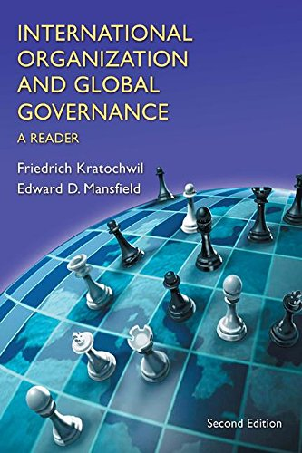 9780321349170: International Organization and Global Governance: A reader