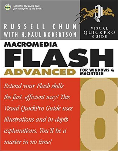 9780321349644: Macromedia Flash 8 Advanced for Windows and Macintosh: Visual QuickPro Guide