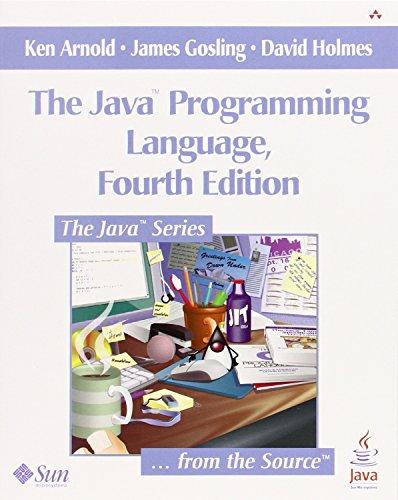9780321349804: The Java Programming Language, 4th Edition
