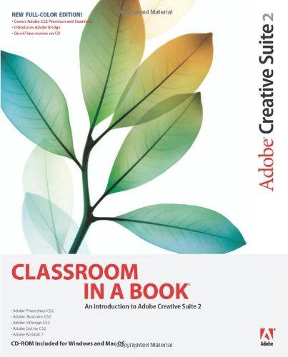 9780321349828: Adobe Creative Suite 2 Classroom in a Book