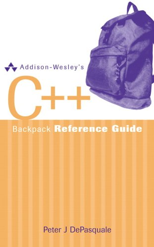 9780321350138: Addison-Wesley's C++ Backpack Reference Guide