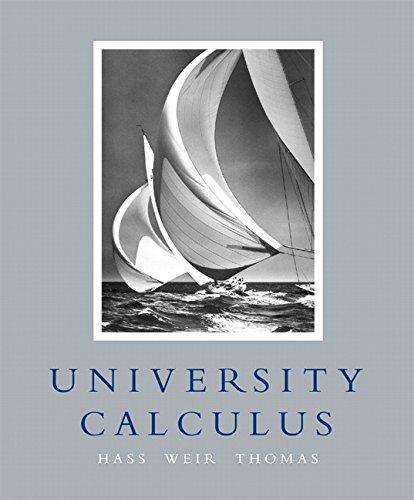 9780321350145: University Calculus