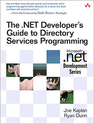 9780321350176: The .NET Developer's Guide to Directory Services Programming