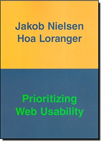 9780321350312: Prioritizing Web Usability