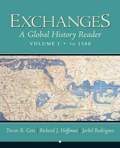 9780321355089: Exchanges: A Global History Reader, Volume 1