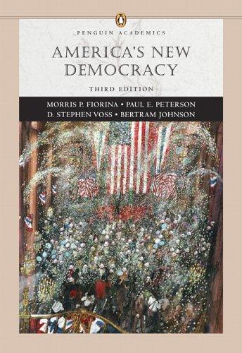 9780321355232: America's New Democracy (Penguin Academic Series) (3rd Edition)
