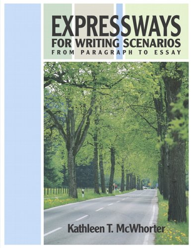 9780321355379: Expressways for Writing Scenarios: From Paragraph to Essay (book alone)