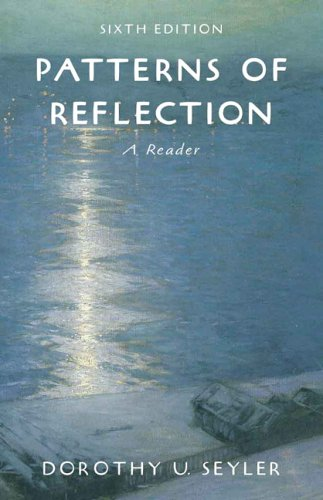 9780321355638: Patterns of Reflection: A Reader (6th Edition)