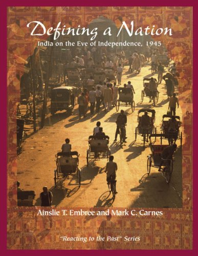 9780321355850: Defining a Nation: India on the Eve of Independence 1945: Reacting to the Past