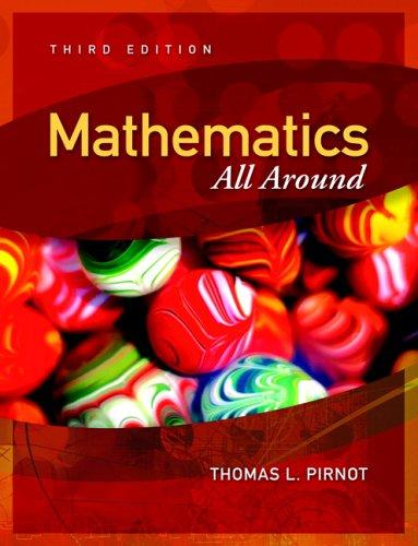 9780321356864: Mathematics All Around (3rd Edition)