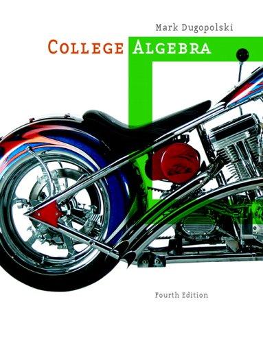 9780321356918: College Algebra (4th Edition)