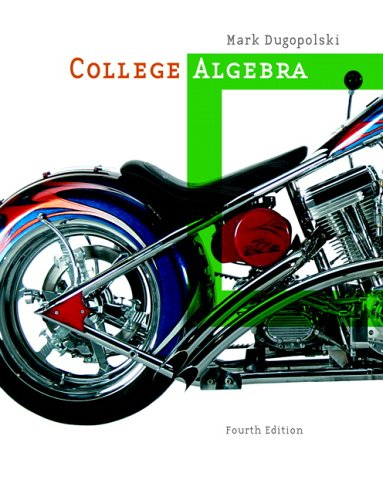 9780321356918: College Algebra (4th Edition)