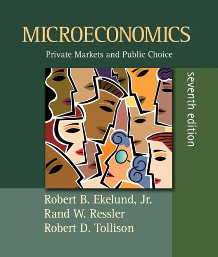 9780321357007: Microeconomics: Private Markets and Public Choice plus MyEconLab (7th Edition) (Addison-Wesley Serries in Economics)