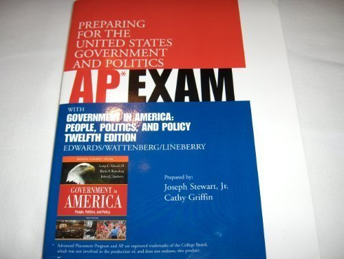 9780321357410: Ap Exam Test Government in America,Twelfth Edition