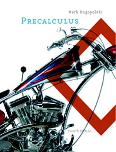 9780321357793: Precalculus (4th Edition)