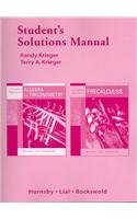 Student's Solutions Manual for A Graphical Approach: Norma James, John