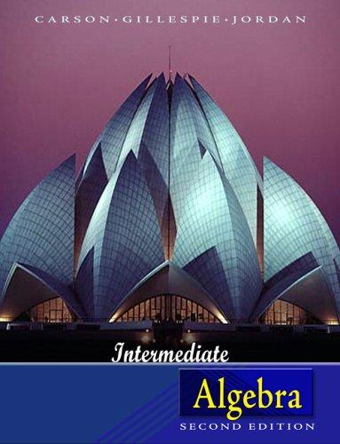 9780321358356: Intermediate Algebra (2nd Edition)
