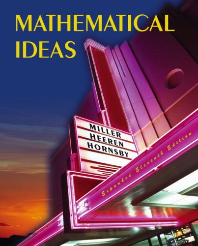 Amazon. Com: mathematical ideas with student study guide and.