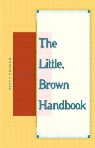 9780321362780: The Little, Brown Handbook (With MyCompLab), 9th Edition