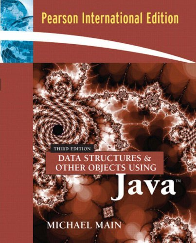9780321364128: Data Structures and Other Objects Using Java: International Edition