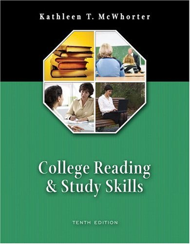 9780321364784: College Reading and Study Skills (book alone) (10th Edition)