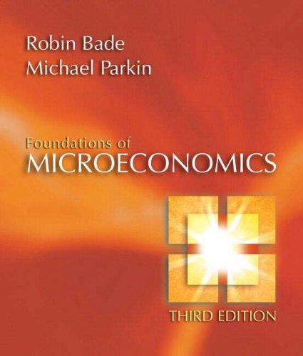 9780321365033: Foundations of Microeconomics