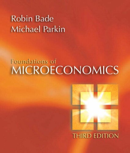 9780321365033: Foundations of Microeconomics (3rd Edition)