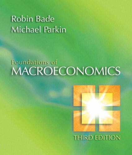 9780321365040: Foundations of Macroeconomics (3rd Edition)