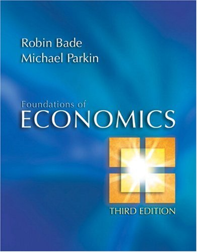 9780321365057: Foundations of Economics