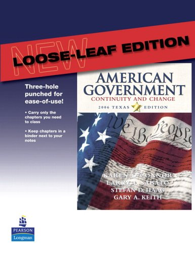 9780321365606: American Government 2006: Continuity and Change