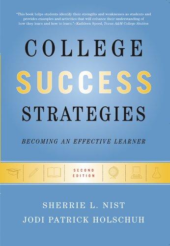 9780321365774: College Success Strategies (Penguin Academics ...