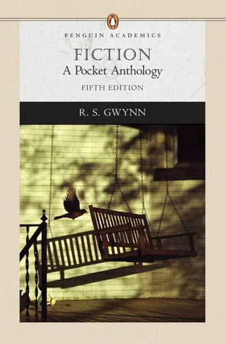9780321366320: Fiction: A Pocket Anthology (Penguin Academics)