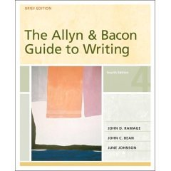 9780321367518: The Allyn & Bacon Guide Writing, 4th Edition