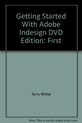 9780321368997: Getting Started With Adobe Indesign DVD