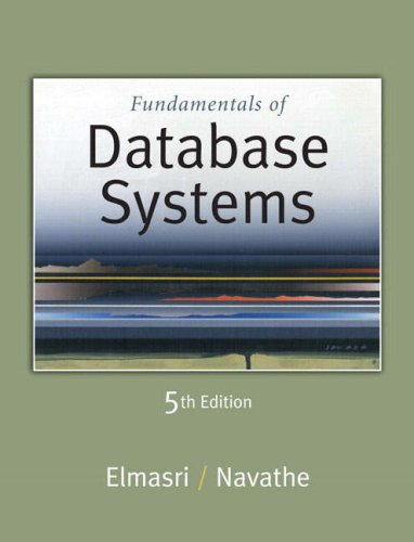 Fundamentals Of Database Systems 5th Edition Pdf