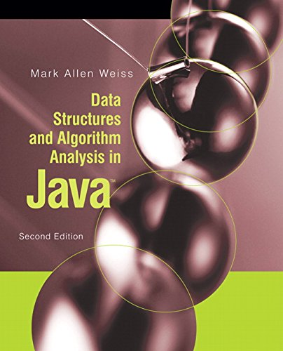 9780321370136: Data Structures and Algorithm Analysis in Java (2nd Edition)