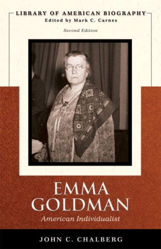 9780321370730: Emma Goldman: American Individualist (Library of American Biography Series) (2nd Edition)