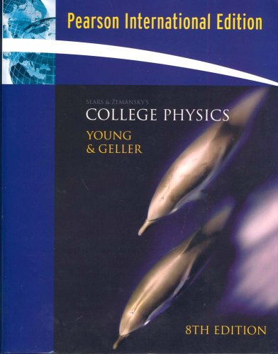 9780321373137: Sears & Zemansky's College Physics