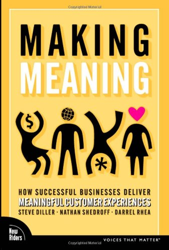 Making Meaning: How Successful Businesses Deliver Meaningful: Diller, Steve; Shedroff,