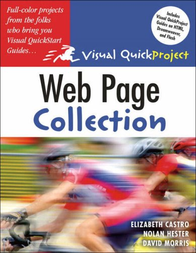 9780321374653: Web Page Visual Quickproject Guide Colle (Visual QuickProject Guides)