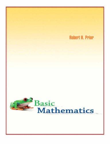 Basic Mathematics: Prior, Robert H