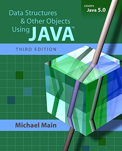 9780321375254: Data Structures and Other Objects Using Java (3rd Edition)