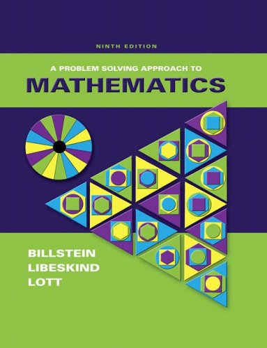 9780321375414: Problem Solving Approach to Mathematics, 9th Edition