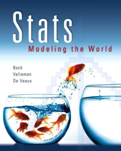 9780321375599: Stats: Modeling the World (2nd Edition)