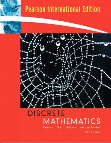 9780321383280: Discrete Mathematics: International Edition