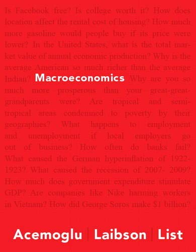 9780321383952: Macroeconomics (Pearson Series in Economics)