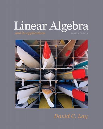 9780321385178: Linear Algebra and Its Applications, 4th Edition